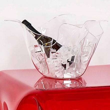 Wiszący uniwersalny wazon Pina, transparentny, nowoczesny design