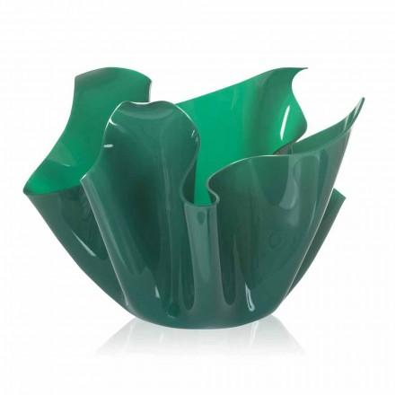 Wazon wielozadaniowy Pina green indoor / outdoor, nowoczesny design wykonany we Włoszech