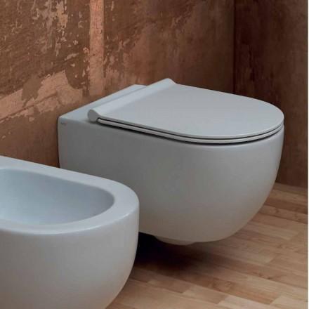 Nowoczesna ceramiczna toaleta ścienna Star 55x35 wykonana we Włoszech