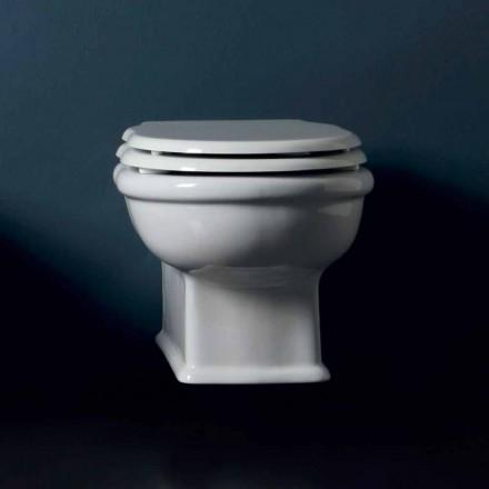 Zaprojektowany naścienny ceramiczny WC Style 54x36 wykonany we Włoszech
