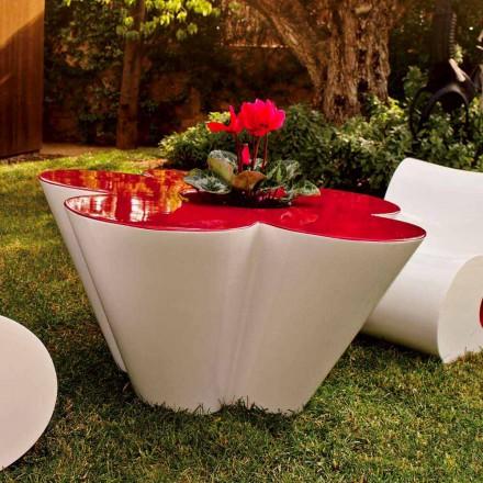 Vondom Agatha stolik kawowy do ogrodu design z kolorowego polietylenu