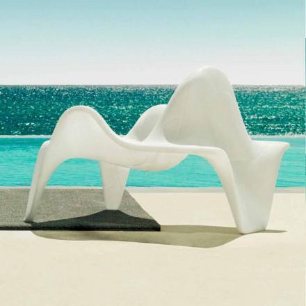 Vondom F3 fotel ogrodowy design z polietylenu, 2 sztuk