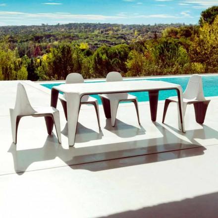 Vondom F3 stół ogrodowy design 190x90cm z polietylenu