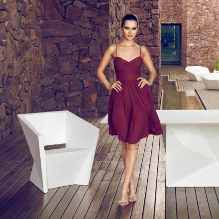 Vondom Faz fotel ogrodowy biały nowoczesny design
