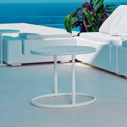 Vondom Kes stół ogrągły do ogrodu ze stali, nowoczesny design