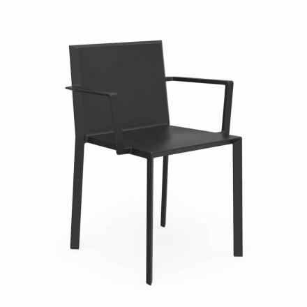 Vondom Quartz krzesło ogrodowe design 52x57x79 cm, 4 sztuk