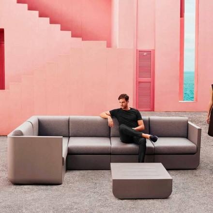 Vondom Ulm kompozycja salonowa do ogrodu design taupe