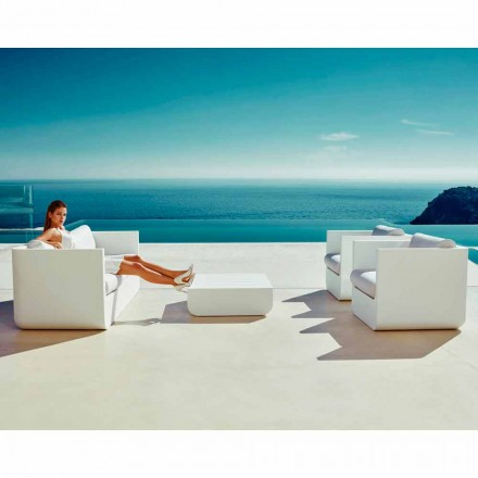 Vondom Ulm kompozycja salonowa do ogrodu design biała
