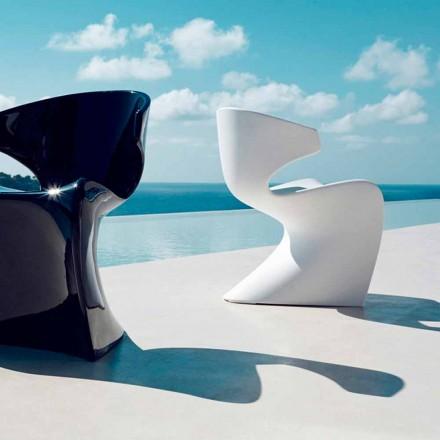 Vondom Wing krzesło ogrodowe design 50x56x74 cm z polietylenu