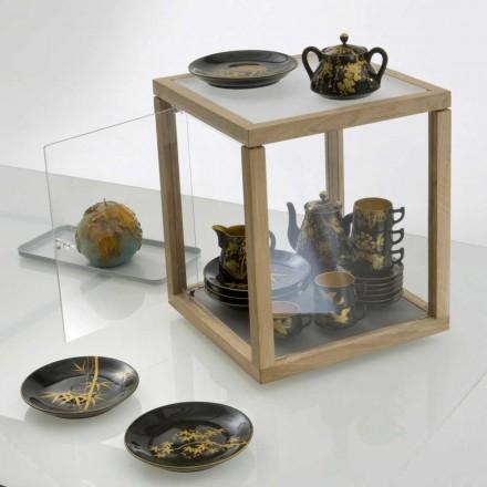 Regał Projekt Zia Babel Spinning Schowek z drzwiami